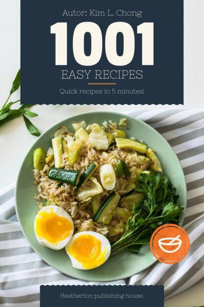 Placeit - Cookbook Cover Design Maker