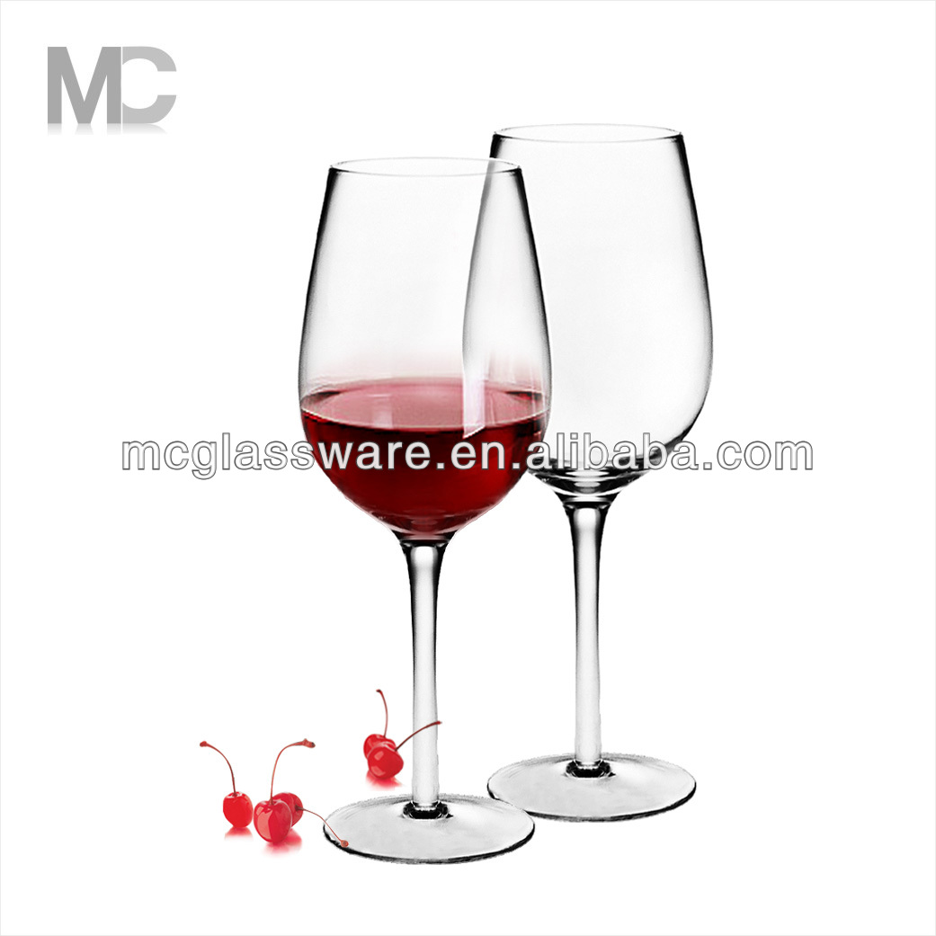High Quality Wine Glasses Wholesale Popular Mouth Blown High Quality Red Wine Glass