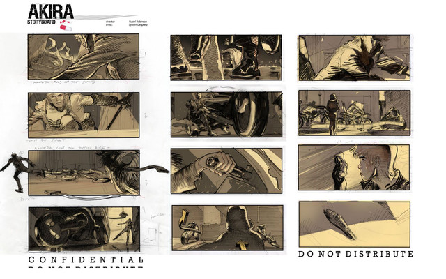 Crunchyroll - A Peek at Live-Action \ - film storyboards