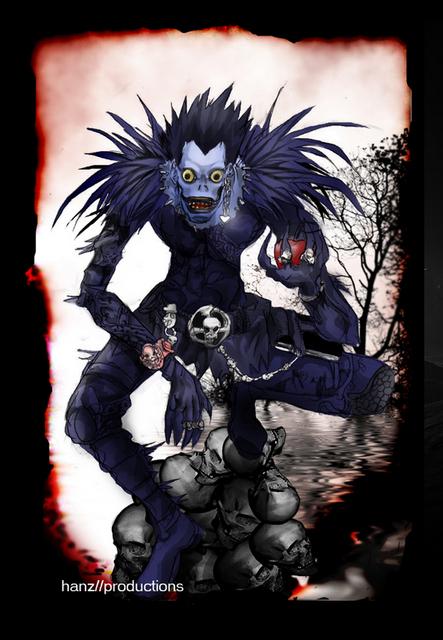 Crunchyroll - Forum - Who\u0027s the Better Reaper(Shinigami) in Death - death note