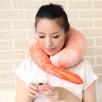 Crunchyroll - Shrimp Neck Pillow Grabs the Attention of ...
