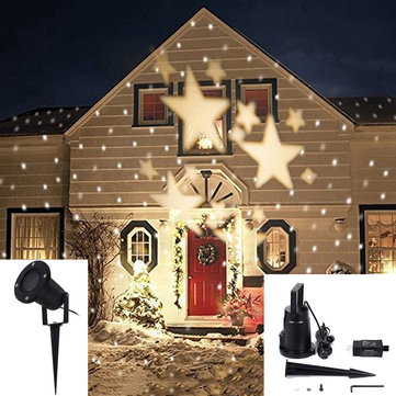 4W LED Waterproof Star Light Landscape Projector Lamp for Home - christmas decoration projector