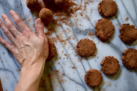 Tiramisu No-Bake Cookies