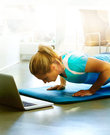 At Home Workouts - Expert Nutrition Plans - Healthy Living