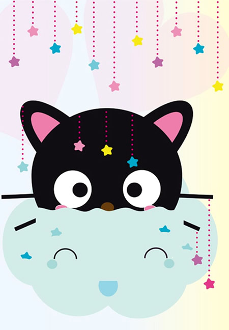 Cute Wallpapers Of Hello Kitty Chococat Images Photos Et Illustrations Pour Facebook