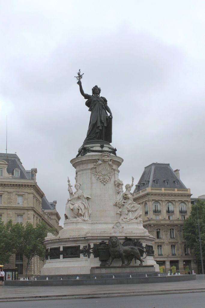 Cool Republique Place De La Republique In Paris Free 3d Model 3d Printable