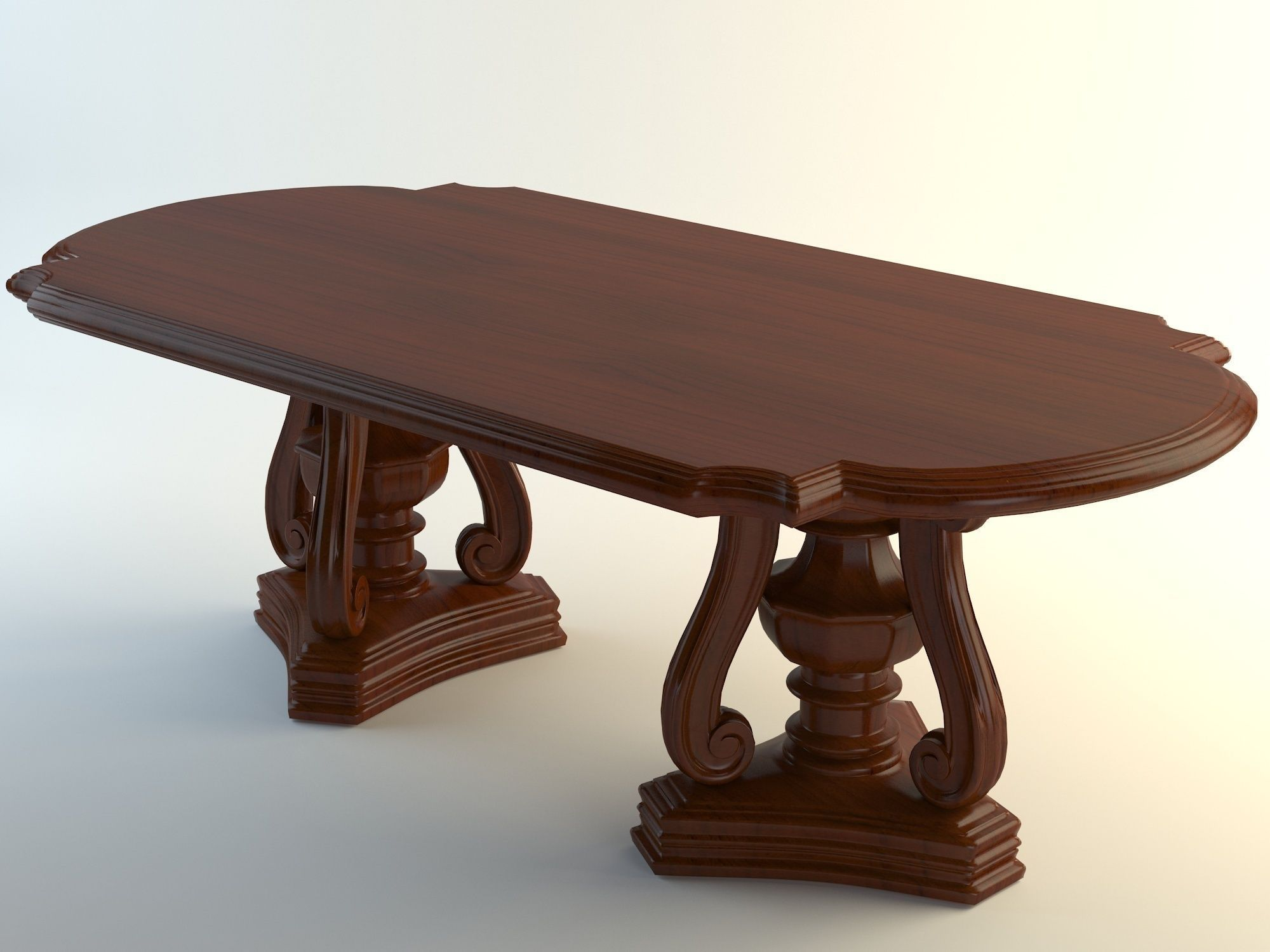 Max A Table Table 3d Model Max Obj 3ds Fbx Cgtrader