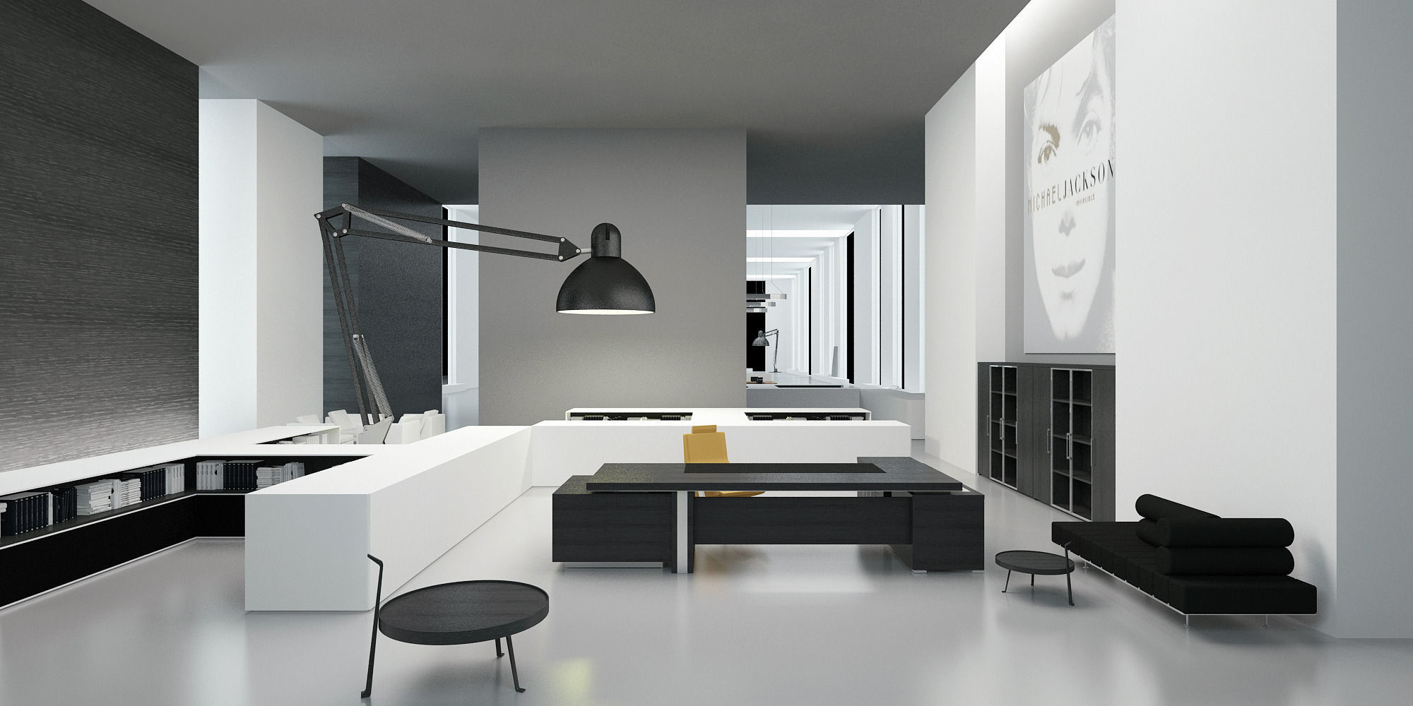 Modern Office Interior Modern Office Interior 3d Model Max Cgtrader