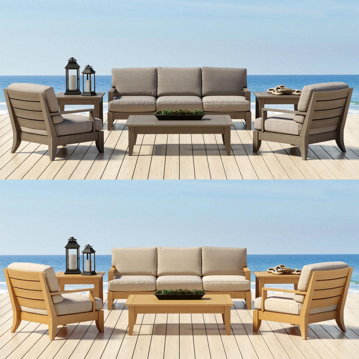 Haywards Patio Furniture Santa Barbara. Santa Barbara Patio Furniture    Restoration Hardware Collection 3d Model