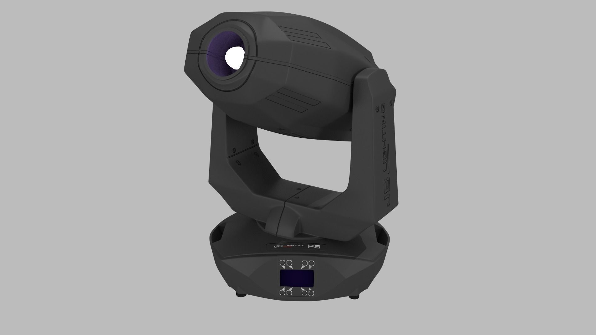 Jb Lighting Varyscan P6 Jb Lighting Varyscan P8 Moving Head 3d Model