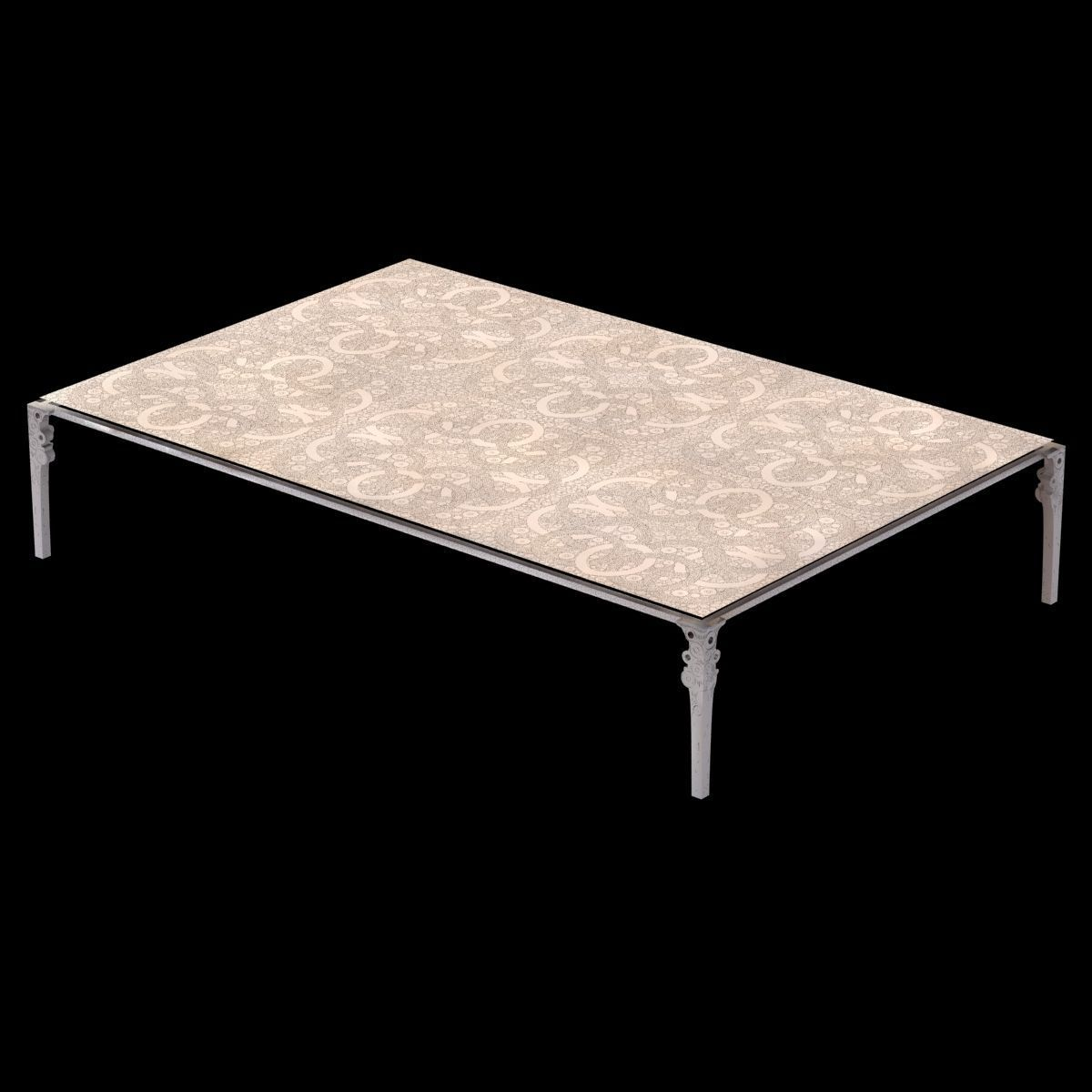Tabke Basse Ingrid Donat Table Basse Anneaux 3d Model