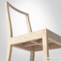 Ply-Chair by Jasper Morrison 3D Model MAX OBJ FBX MTL ...