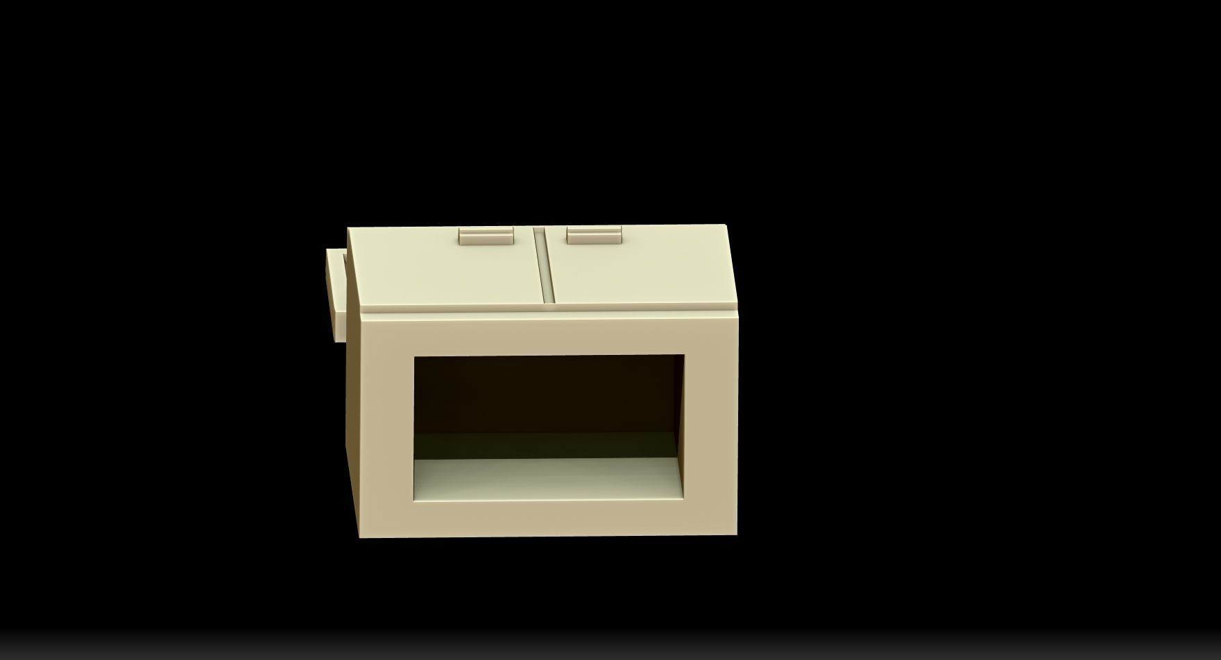 Meuble 3d Meuble Tv 3d Model 3d Printable Stl Cgtrader