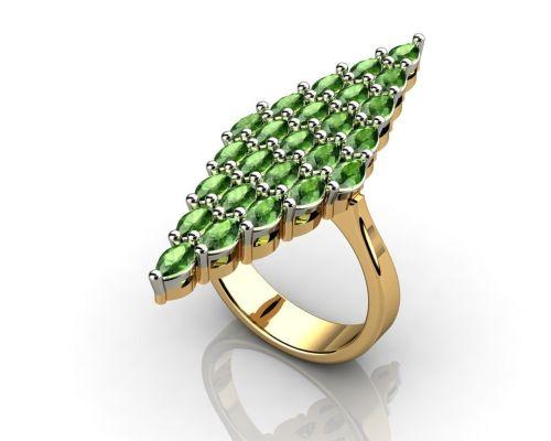 Medium Of Marquise Engagement Ring