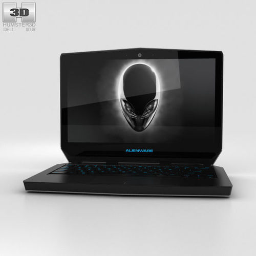 Dell Alienware 13 3D model CGTrader