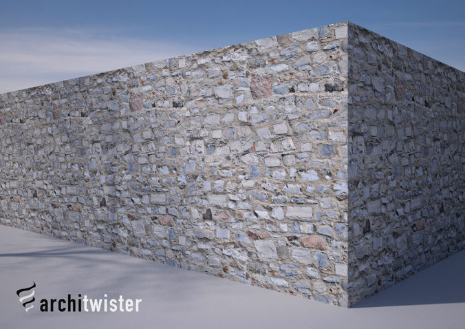 25 Seamless Stone Wall Textures 3D CGTrader