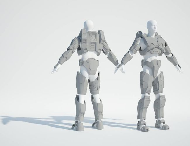 armor Halo 3 Master Chief costume for 3d printing