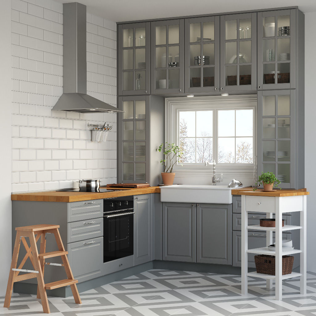 Metod Kitchen Ikea Metod 3d Model