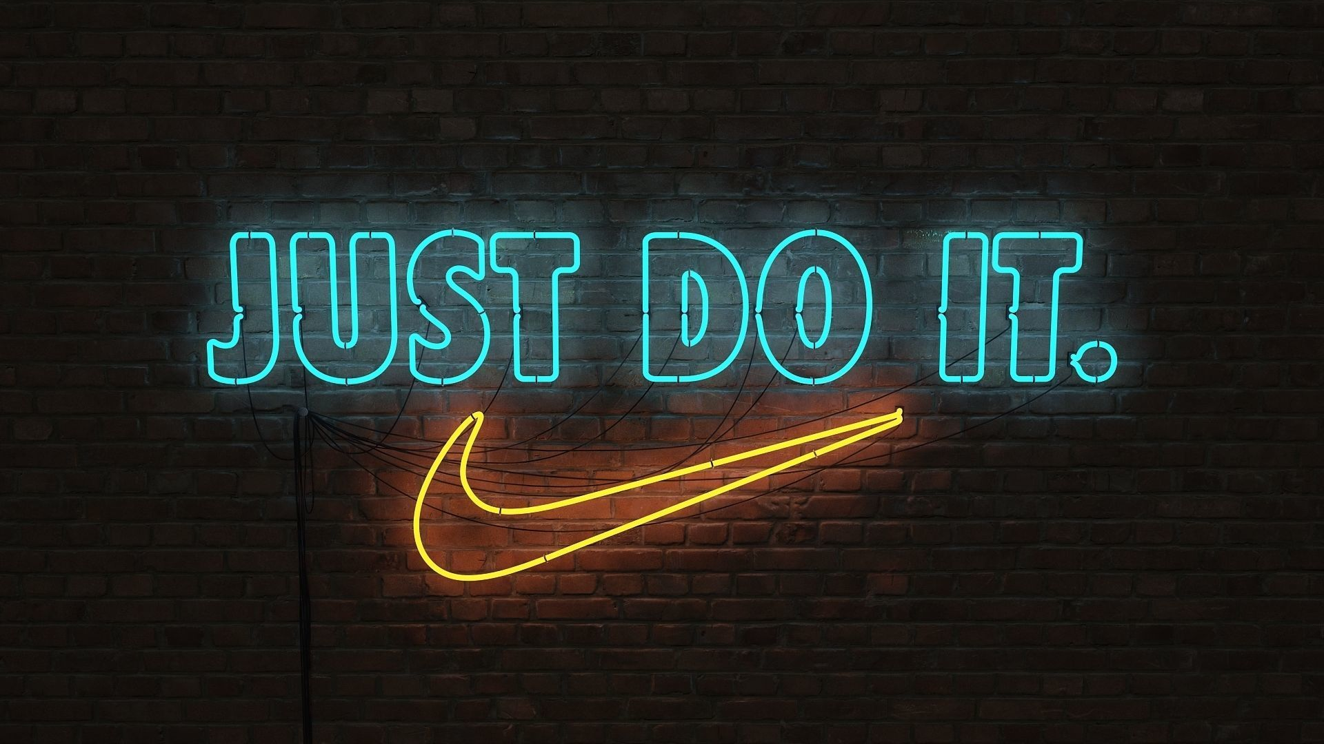Nike Do Logo Sign Nike Just Do It 3d 3d Model