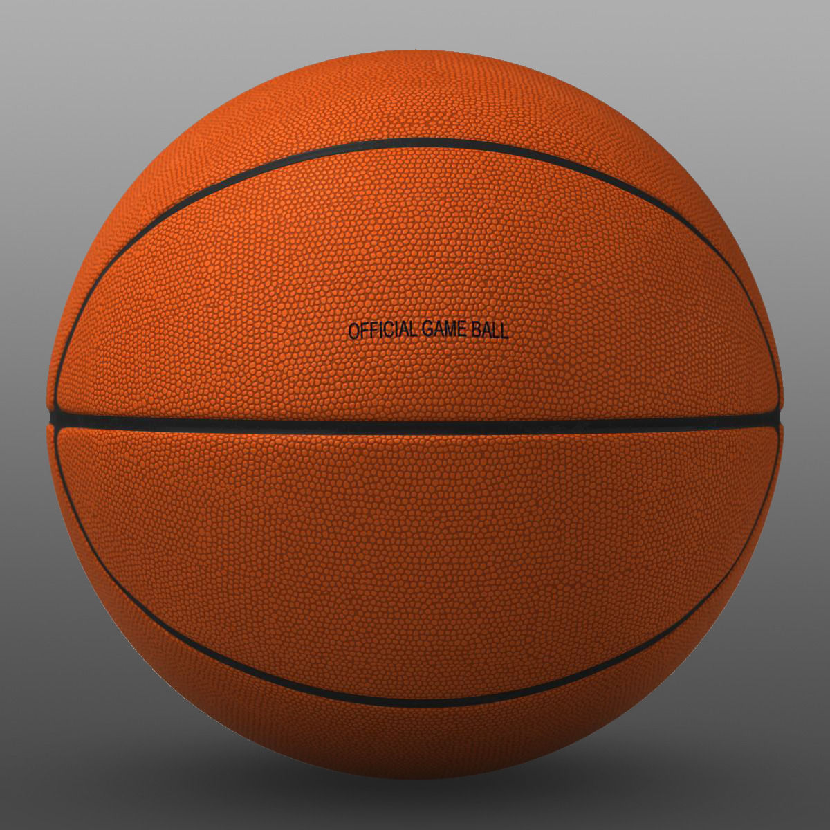 Basketball Ball Orange Basketball Ball 3d Model