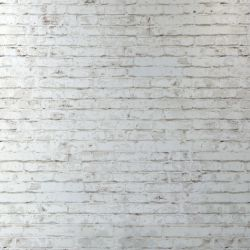 Small Crop Of White Brick Wall