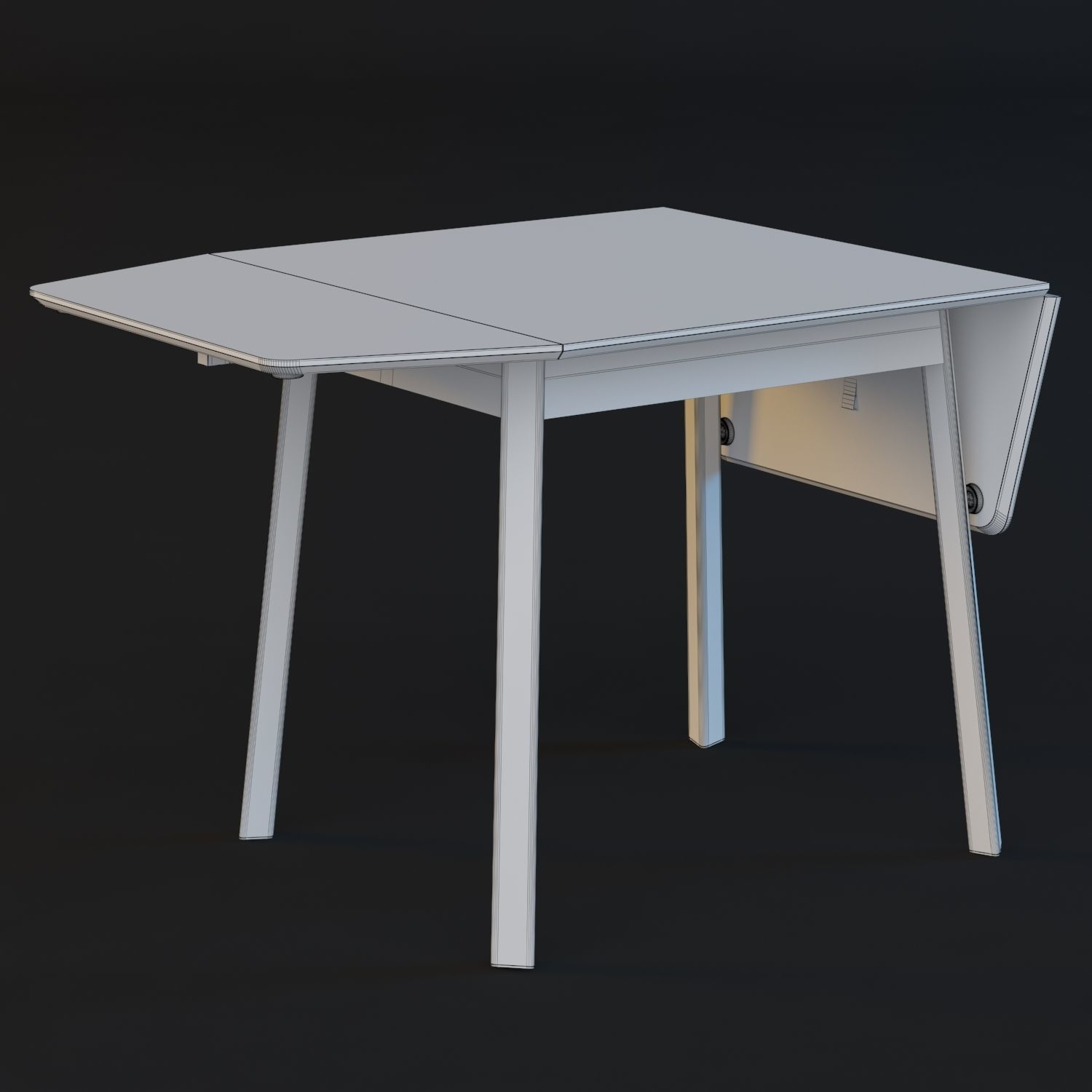 Ikea Table Ikea Ps 2012 Table 3d Model