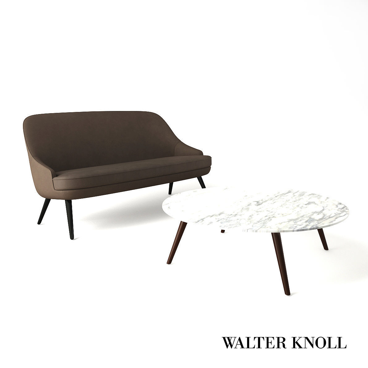 Walter Knoll Sofa Sofa And Coach Table From Walter Knoll Design By Wk Team 3d Model