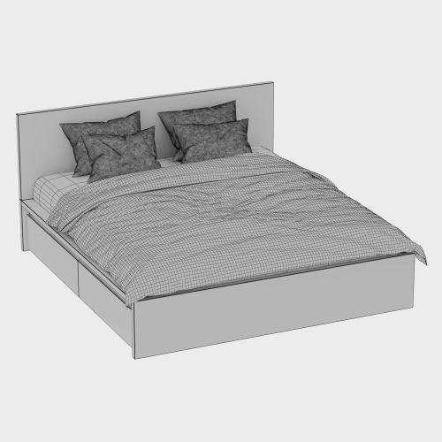 Medium Of Malm Ikea Bed