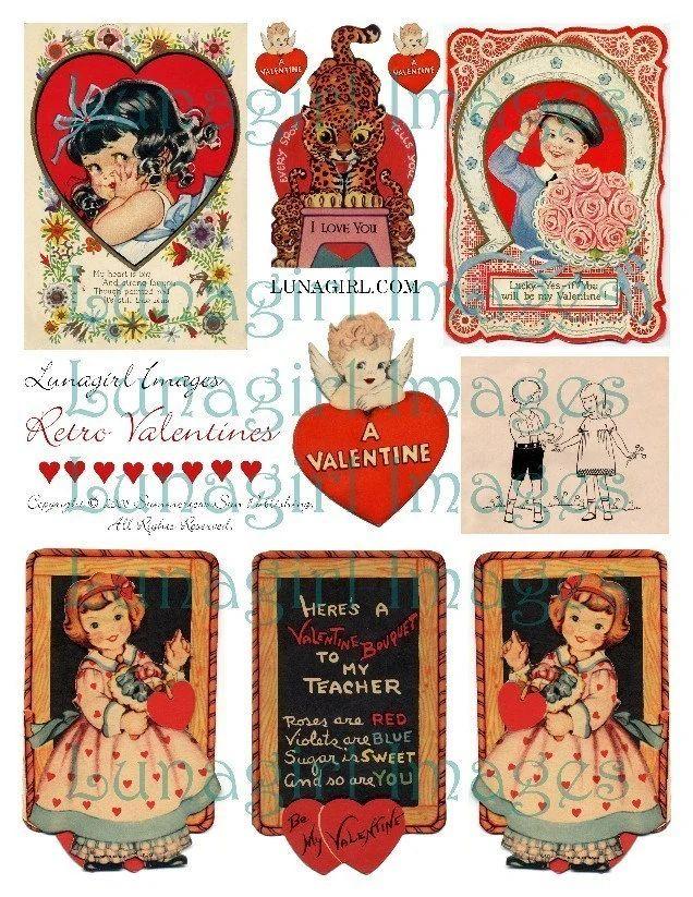 digital valentines cards