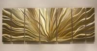Gold & Silver Modern Metal Wall Art Metallic by ...