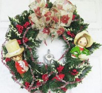 Herald Angels SingChristmas Wreath Holiday by ...