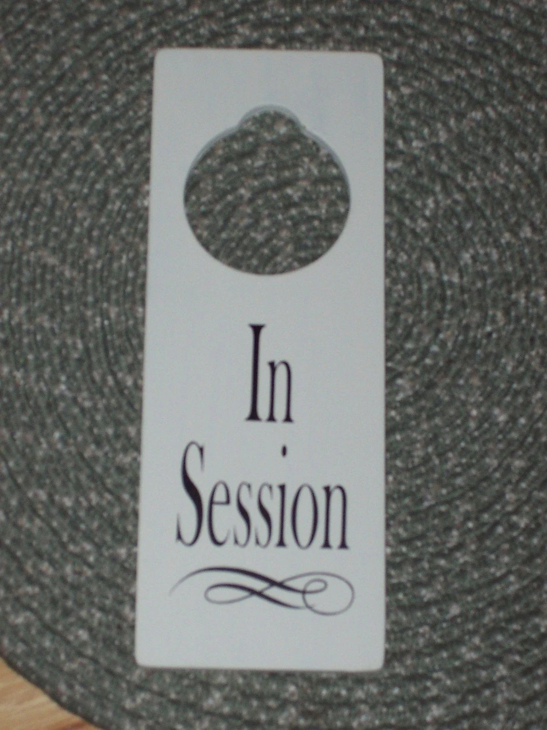 Session In Progress Door Hanger Door Hanger In Session Beautiful - In session door hanger template