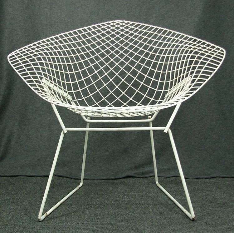 Eames Chairs Reproduction Harry Bertoia Diamond Chair Vintage Mid Century Eames Era