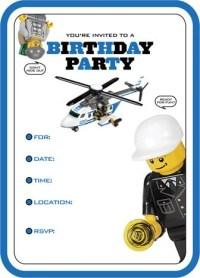 Articoli simili a LEGO CITY Police Party Supplies su Etsy