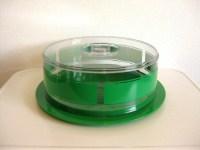Covered Cake Plate. Industrial Glass Steel Medium Desert ...