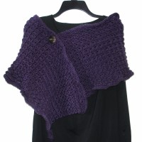 Women's Broomstick Lace Shawl Crochet Pattern by ...