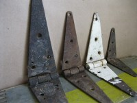 Antique Set of Rustic Barn Door Hinges by ShaneLilyRain on ...