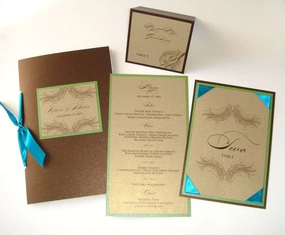 place card sample