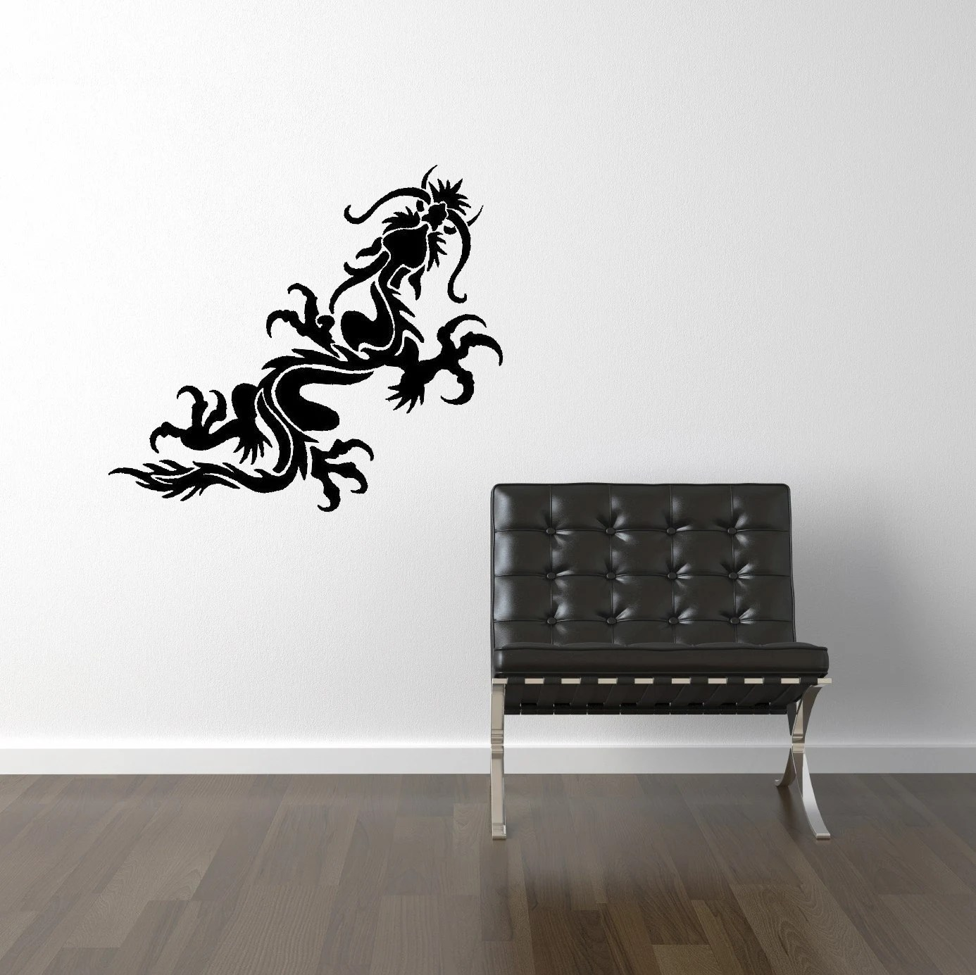 Vinyl Wall Decal Items Similar To Dragon Vinyl Wall Decal Decals Wall