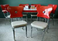 1950's Retro Kitchen Table Chairs | The Interior Design ...