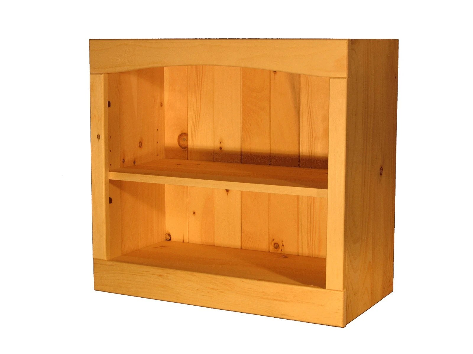 Solid Pine Bookcase 36w X 23h X 12d