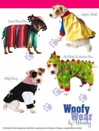 DOG Costume Sewing Pattern Woofy Wear Dogs Dinosaur Pirate