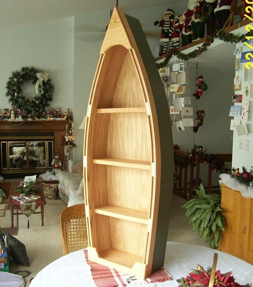 Isau Boat Bookcase Plans