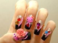 Japanese 3D nails octopus kawaii squid novelty Japanese