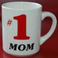 Vintage Number 1 MOM Coffee MUG Cup made in England