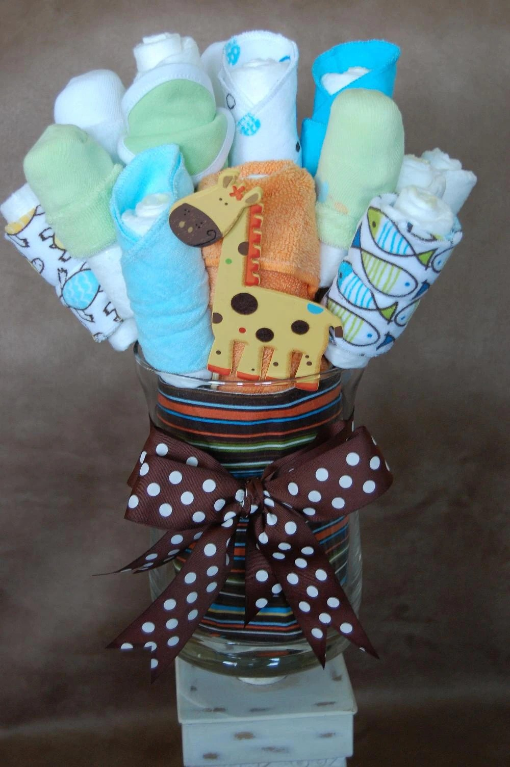 Baby Select Diapers Custom Diaper Bouquet