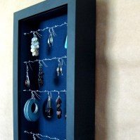 Jewelry Box / Unique Hanging Jewelry Display and by ...