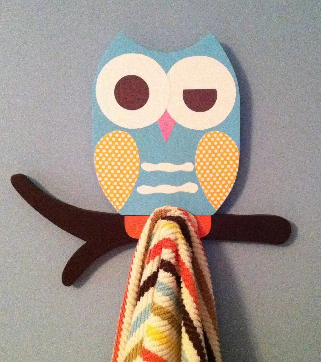 Owl Decor For Bathroom Owl Towel Rack Owl Bathroom Decor Kid 39s Towel Rack By