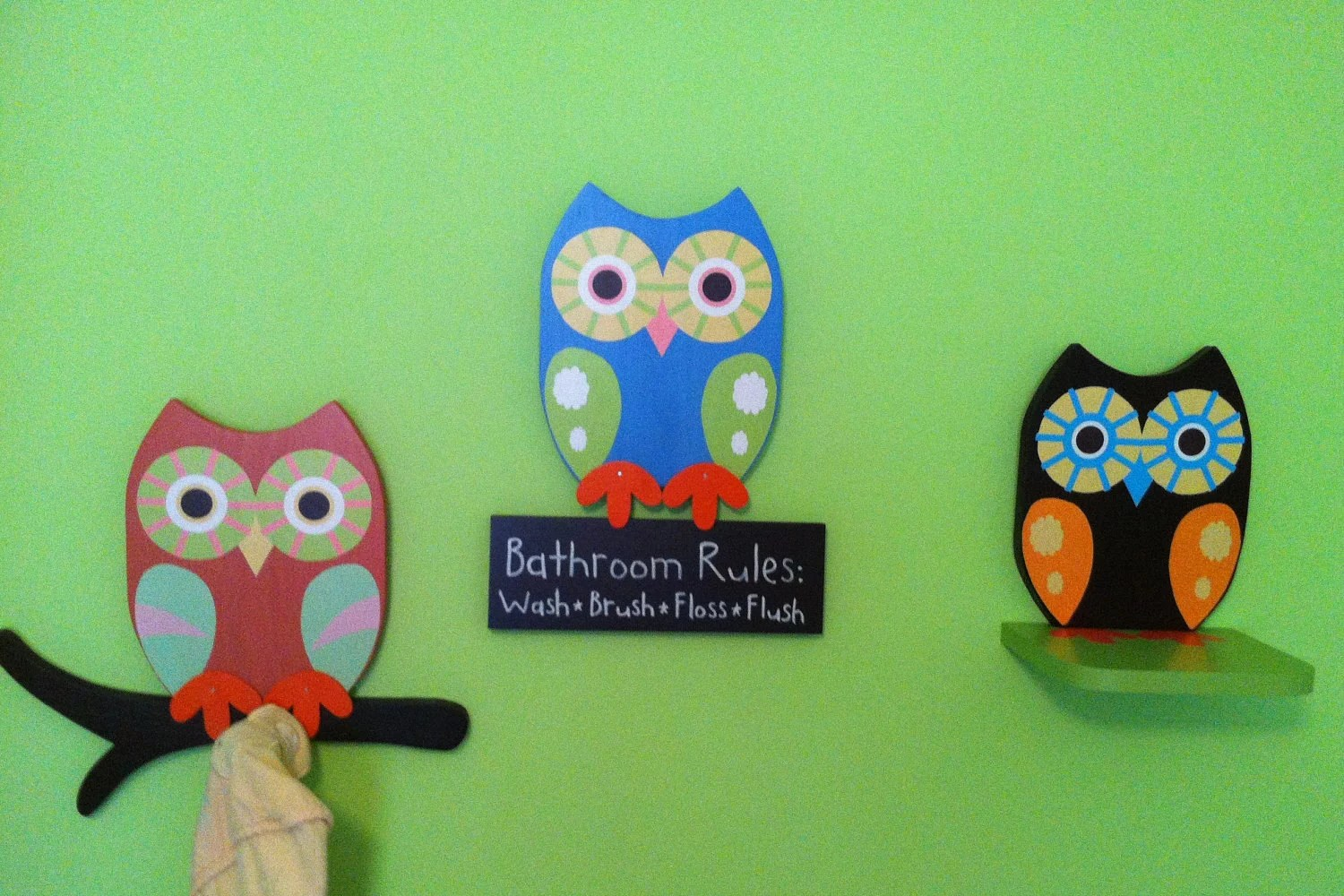 Owl Decor For Bathroom Owl Bathroom Decor Owl Towel Rack Owl Shelf Owl By