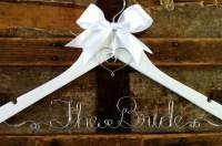 Personalized Bridal Hanger Custom Wedding Dress Hanger for